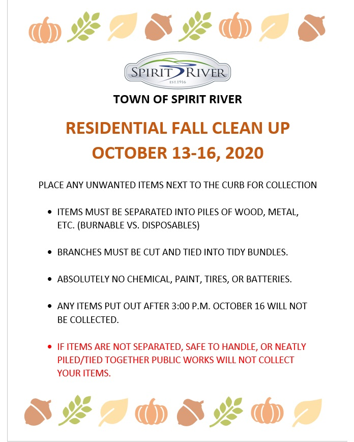Fall Clean Up Image